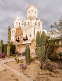 San Xavier del Bac Mission en dehors de Tucson Arizona photos libres de droits