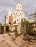 San Xavier del Bac Mission en dehors de Tucson Arizona Photos libres de droits