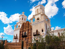 San Xavier del Bac Mission Stock Images