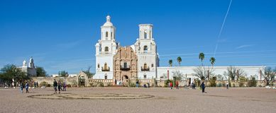 San Xavier del Bac Mission royalty free stock photos