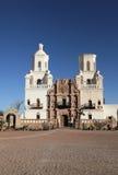 San Xavier del Bac Mission, Tucson Imagen de archivo