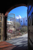 San Xavier del Bac Mission, Tucson Fotos de archivo libres de regalías