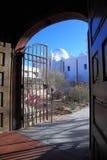 San Xavier del Bac Mission, Tucson royalty-vrije stock foto's