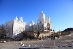 San Xavier del Bac Mission, Tucson Foto de Stock