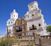 San Xavier del Bac Mission, Tucson royalty-vrije stock fotografie