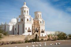 San Xavier Del Bac Mission, Tucson, Arizona Stock Fotografie