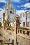 San Xavier del Bac Mission, Tucson, Arizona. Church Renovations Stock Images