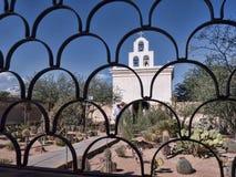 San Xavier del Bac the Spanish Catholic Mission Tucson Arizona Stock Image