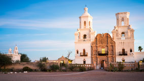 San Xavier Del Bac in Tucson Arizona Royalty Free Stock Images