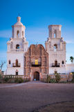 San Xavier Del Bac in Tucson Arizona royalty-vrije stock fotografie