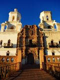 San Xavier Mission Christian Achurch Stock Photography