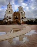 San Xavier Mission Christian Achurch Stock Image