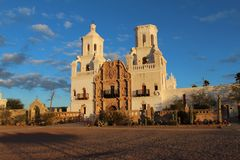 San Xavier Mission Royalty Free Stock Photography