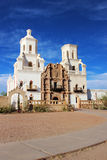 San Xavier Mission. Located outside of Tucson, Arizona Royalty Free Stock Photo