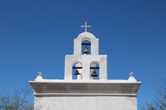 San Xavier Mission. In southern Arizona Stock Photography