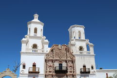 San Xavier Mission. In southern Arizona Royalty Free Stock Photos