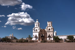 San Xavier Misson Images stock