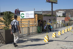 San Ysidro PedWest border crossing Royalty Free Stock Images