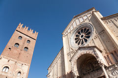 San Zeno, Verona, Italy Stock Photography