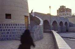 Sana, capital de Iémen fotografia de stock royalty free