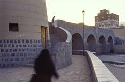Sana, hoofdstad van Yemen royalty-vrije stock fotografie