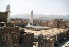 Sana mosque Royalty Free Stock Photo