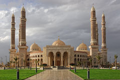 Sanaa,  AL-Saleh mosque Stock Photography