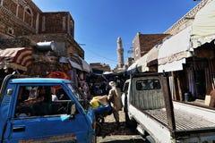 Sanaa City fotos de stock