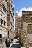 Sanaa, der Jemen Lizenzfreie Stockfotografie