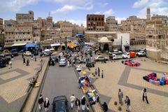 Sanaa, der Jemen Lizenzfreie Stockfotos