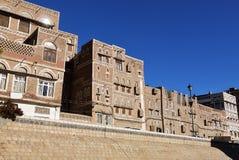 Sanaa huvudstaden av Yemen Arkivbild