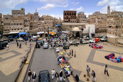 Sanaa, Iémen Fotos de Stock Royalty Free