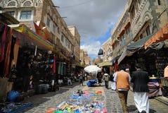 Sanaa, Iémen Imagens de Stock