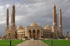 Sanaa, moschea di Al-Saleh Fotografia Stock