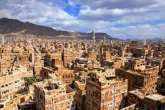 Sanaa, Yémen Image stock