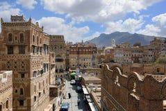 Sanaa, Yemen Stock Afbeeldingen
