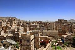 Sanaa Yemen fotografering för bildbyråer
