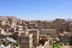 Sanaa, Yemen Stock Afbeelding