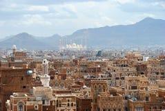 sanaa yemen royaltyfri fotografi