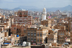 SANAA,YEMEN Royalty Free Stock Images