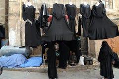 Yemen, street market stock image
