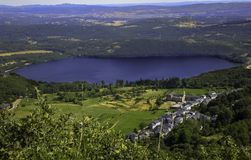 Sanabria湖  库存图片