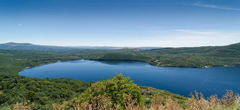 Sanabria Lake Royalty Free Stock Photos