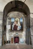 Sanahin, Armênia, o 20 de setembro de 2017: Interior medieval do m Fotos de Stock Royalty Free