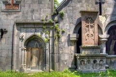 Sanahin kloster royaltyfri fotografi