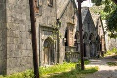 Sanahin kloster royaltyfria bilder