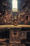 Sanahin Monastery, UNESCO World Heritage Site, Lori Province, Ar royalty free stock photos