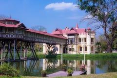 Sanam Chan pałac Nakhon pathom, Thailand obrazy royalty free