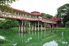 Sanam Chan Palace at Nakhon Pathom province in Thailand stock photos