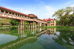Sanam Chan Palace, Nakhon pathom, Thailand Stock Photo